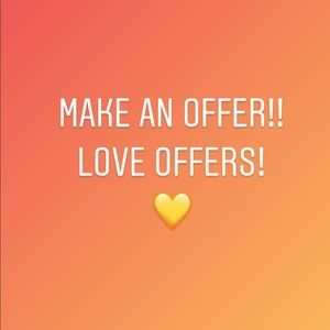 Other - 🧡 Make an Offer 💛 Love Offers! ❤️